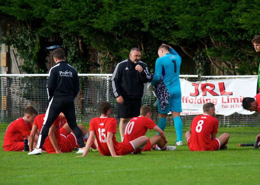 PENALTY HEARTBREAK: Halstead Town exited 6-5 in the shootout