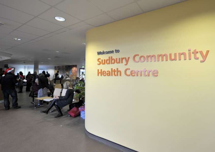 Open day at Sudbury Community Health Centre