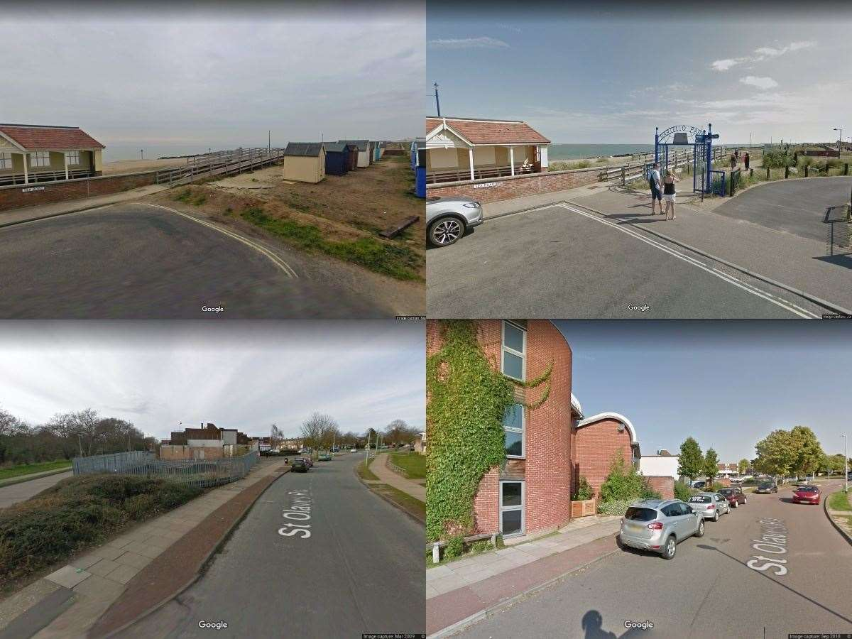 How has Suffolk changed in the last decade as shown by Google Maps? Pictures: Google Maps