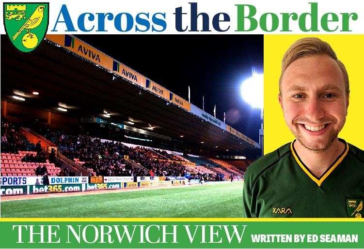 Edward Seaman Across the Border Norwich columnist