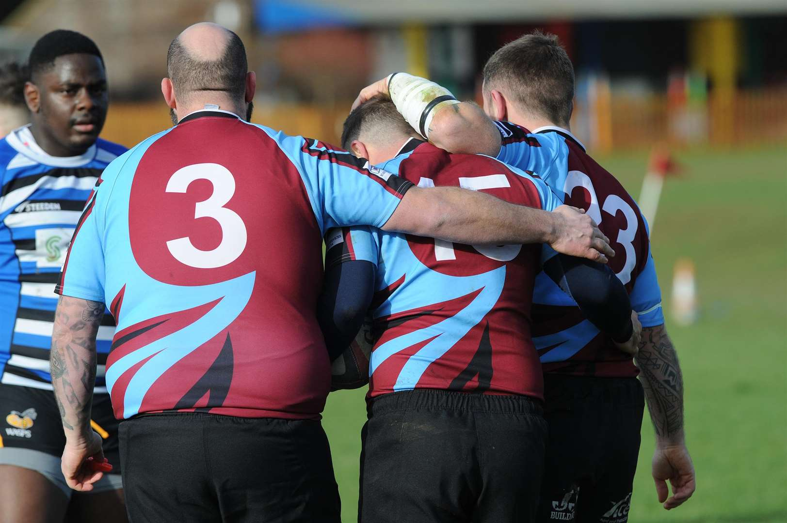 RUGBY - Haverhill v Sawston..Pictured: ...PICTURE: Mecha Morton. (7130606)