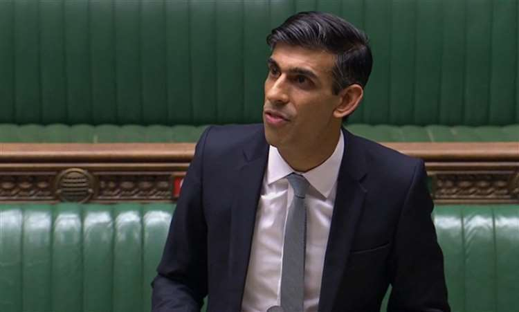 Chancellor of the Exchequer Rishi Sunak (House of Commons/PA) (38079256)