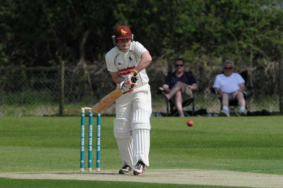 TOP SCORER: Nathan Poole contributed 52 runs as Sudbury picked up their first win of the season over Woolpit.