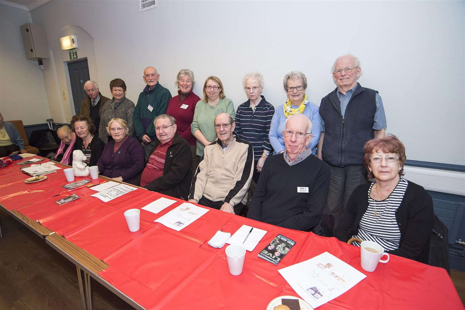 Haverhill (TT) Dementia Group pictured back in March this year. Picture by Mark Westley.