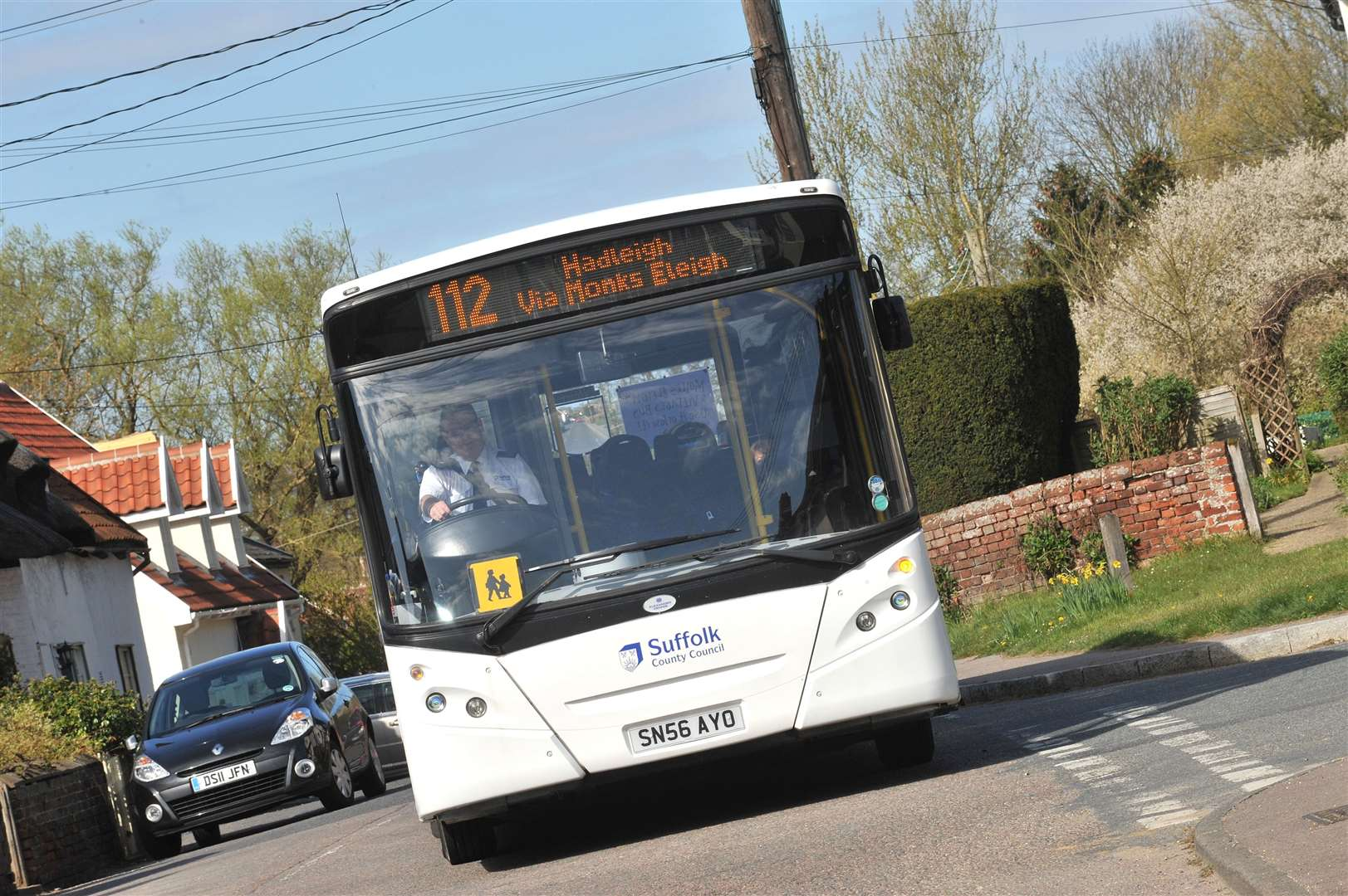 The 112 bus is one of the services under threat, after Suffolk County Council announced cuts to public transport subsidies. (12725064)