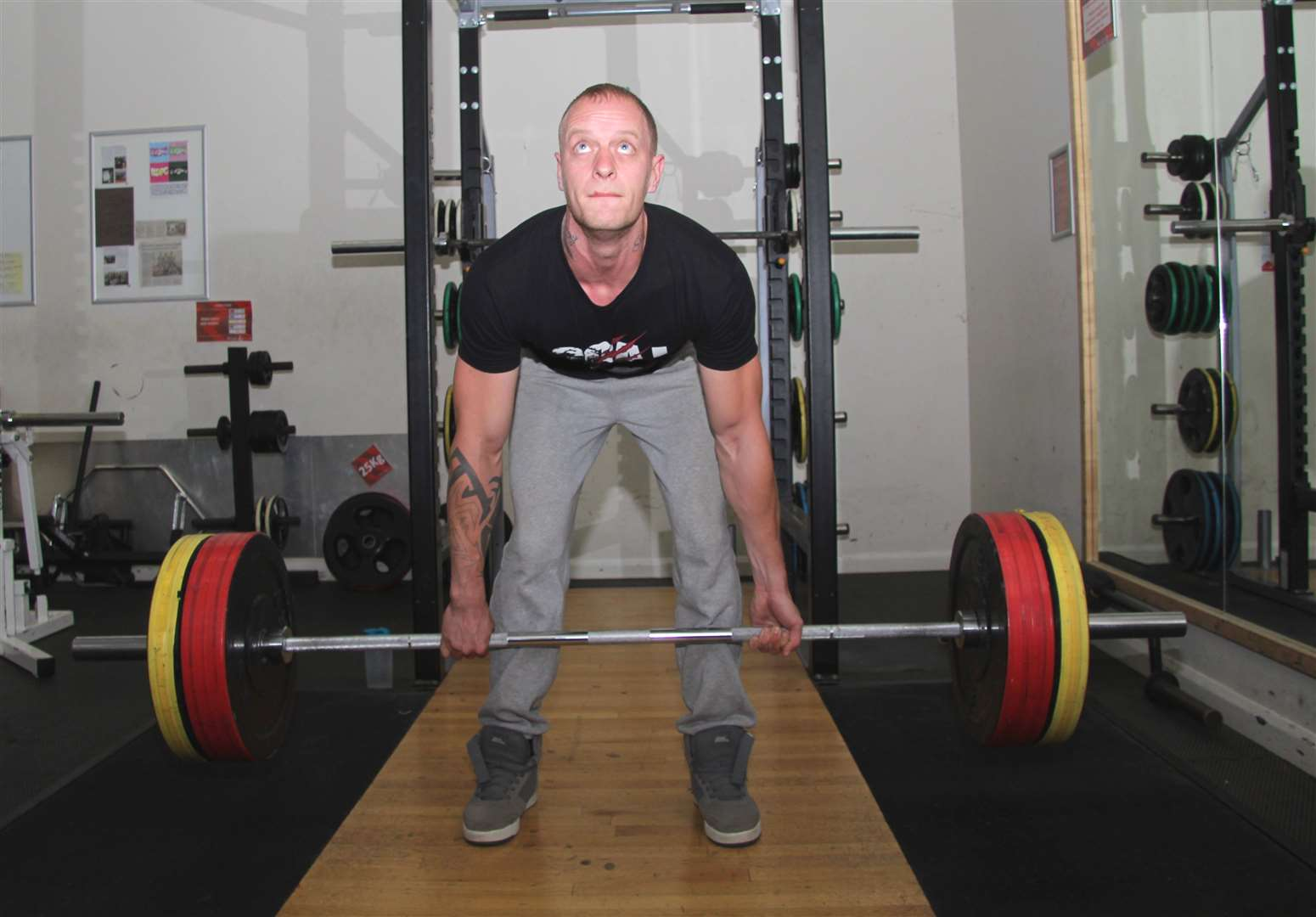 Brandon-based power lifter Mike Goldsmith is already a national champion within a year of starting the sport (16322405)
