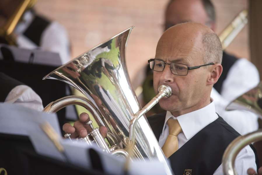 Hadstock Silver Band prove a hit