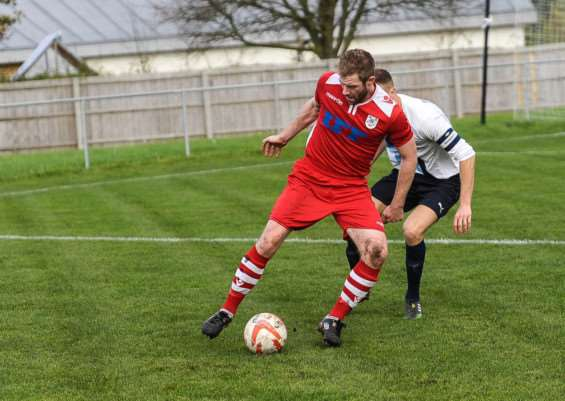 Dan Cornwell scored Haverhill Rovers equaliser from the penalty spot in their 1-1 draw at Kirkley & Pakefield