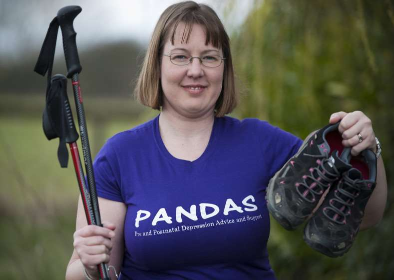 Toni Jeggo will be taking part in the two day 100k walk from London to Brighton, which is continuous with no sleeping, to raise money for the Pandas foundation which helps with families suffering from pre and post natal depression. Picture by Mark Westley Photography