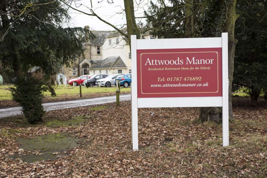 MW HALSTEAD'Attwoods Manor Residential Care Home, Mount Hill, Halstead, Essex'Attwoods Manor Residential Care Home in Halstead is now under the management of Stow Health Care'Picture Mark Westley