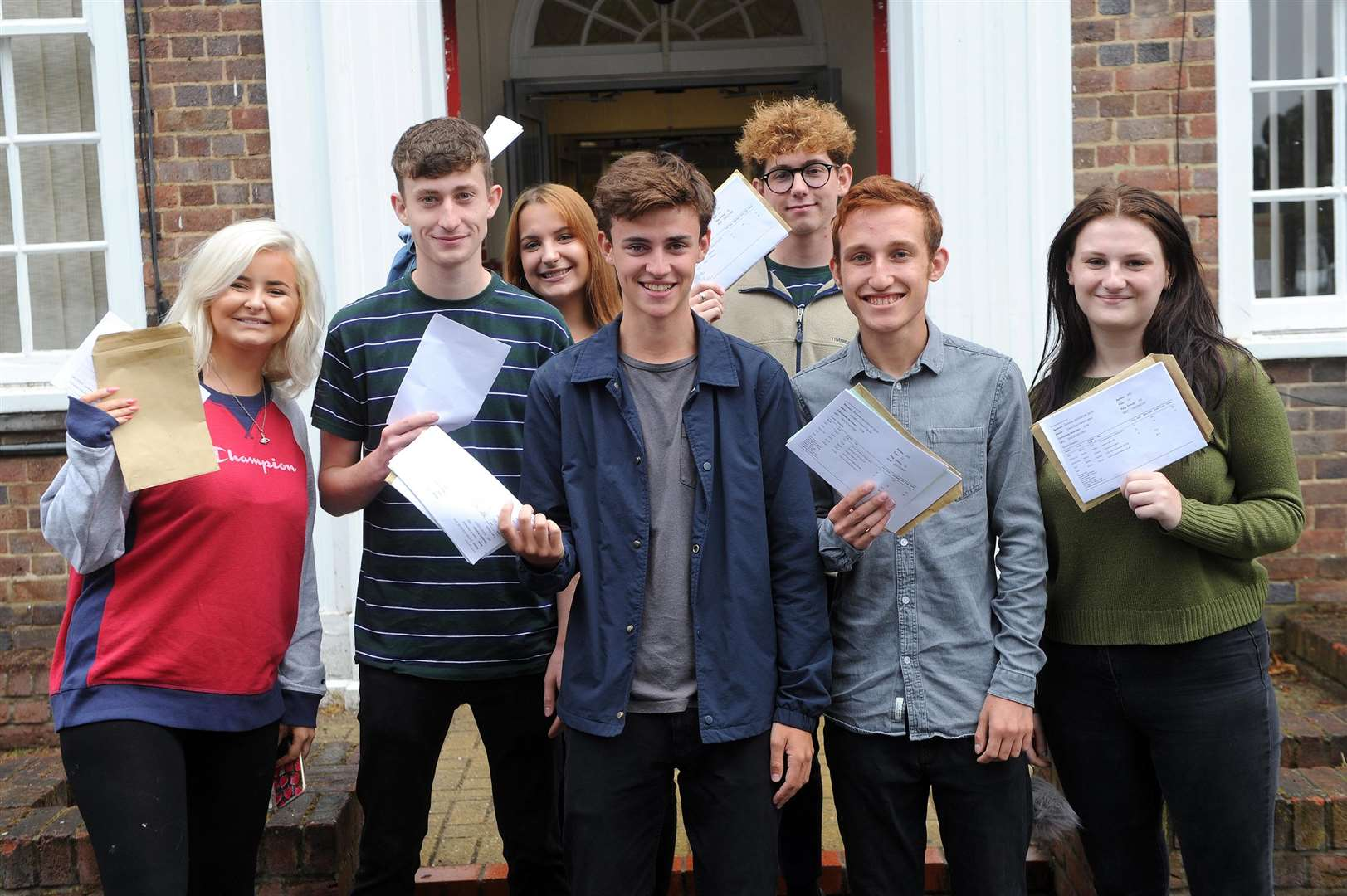 A Level Results 2018 - King Edwards VI...Pictured:...PICTURE: Mecha Morton... .. (3631872)