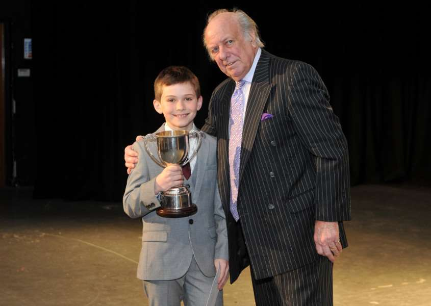 Festival of arts concert finale''Pictured: Charles Knowler who won the Suffolk Free Press cup. ANL-150323-095044009