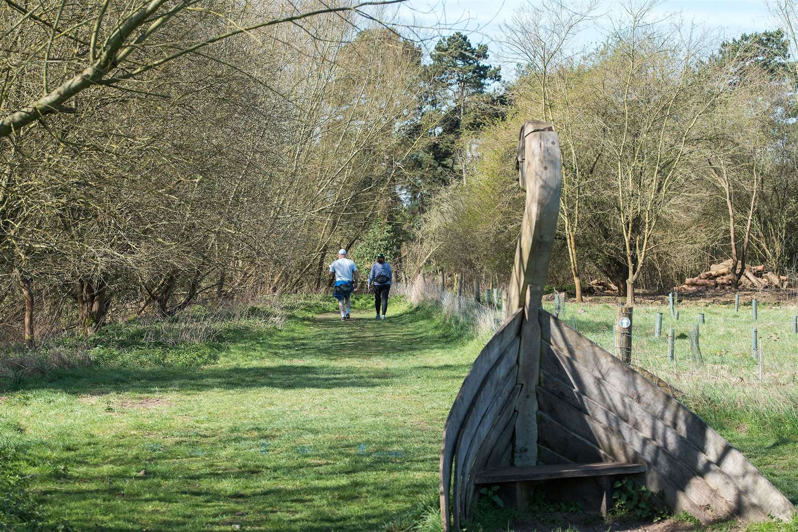 West Stow Country Park has been recognised for the quality of its green space. Picture by Mark Westley