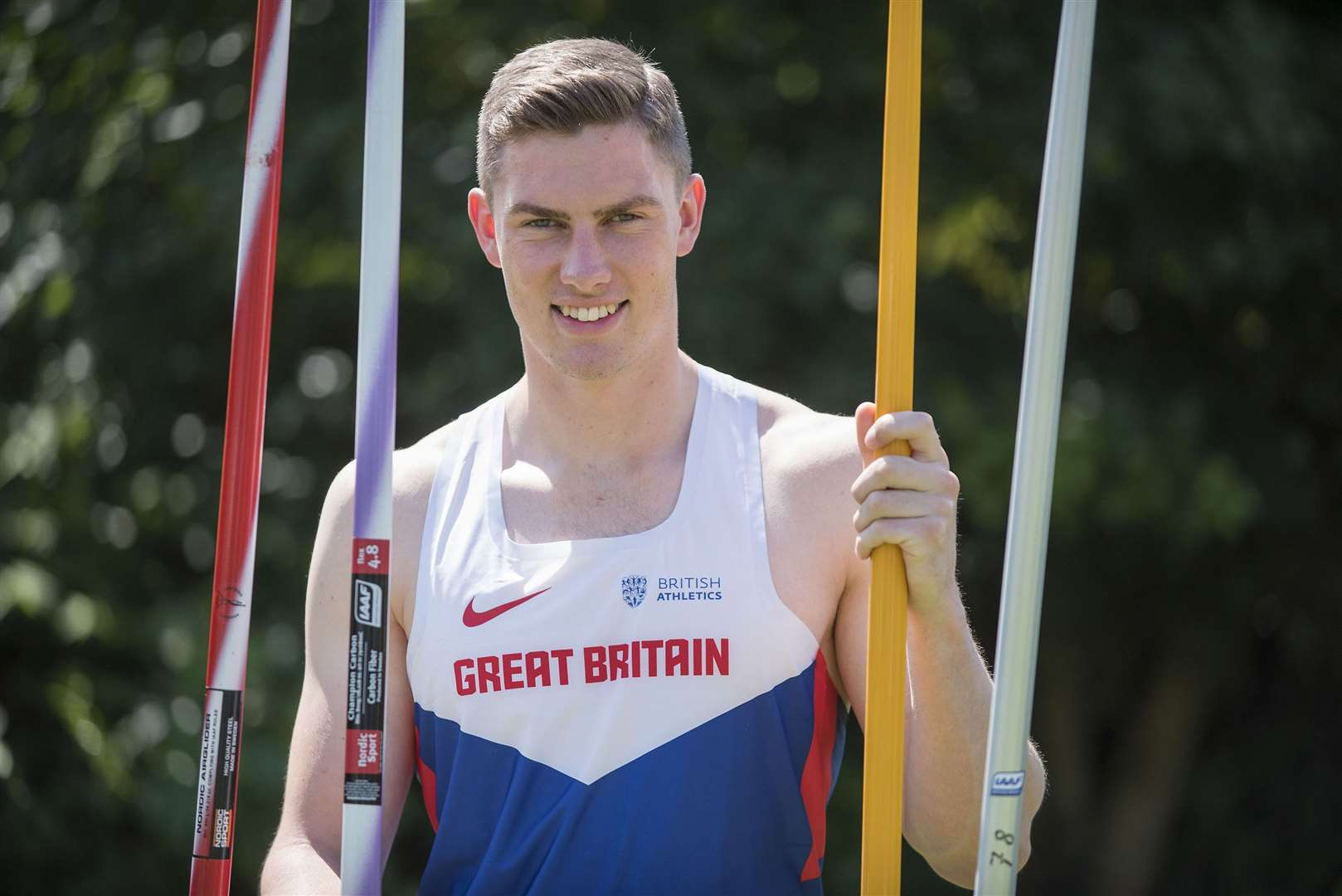 Harry Hughes set a new record at the BUCS Outdoor Championships over the Bank Holiday Weekend Pictures: Mark Westley