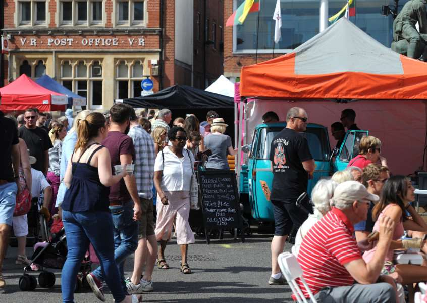 Bury Food and Drink Festival helped draw in the crowds during August ANL-160829-235136009