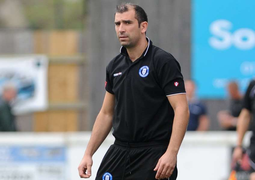 PLEASANTLY SURPRISED: Bury Town manager Ben Chenery has hailed his side's unbeaten start to their new league campaign