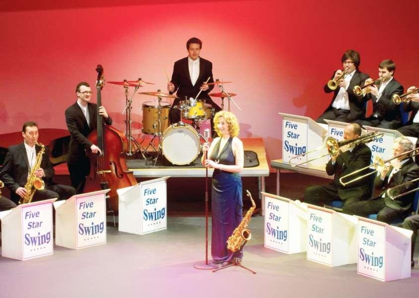 The Big Band at Christmas are playing at the Theatre Royal Bury St Edmunds on November 19 ANL-160311-125020001