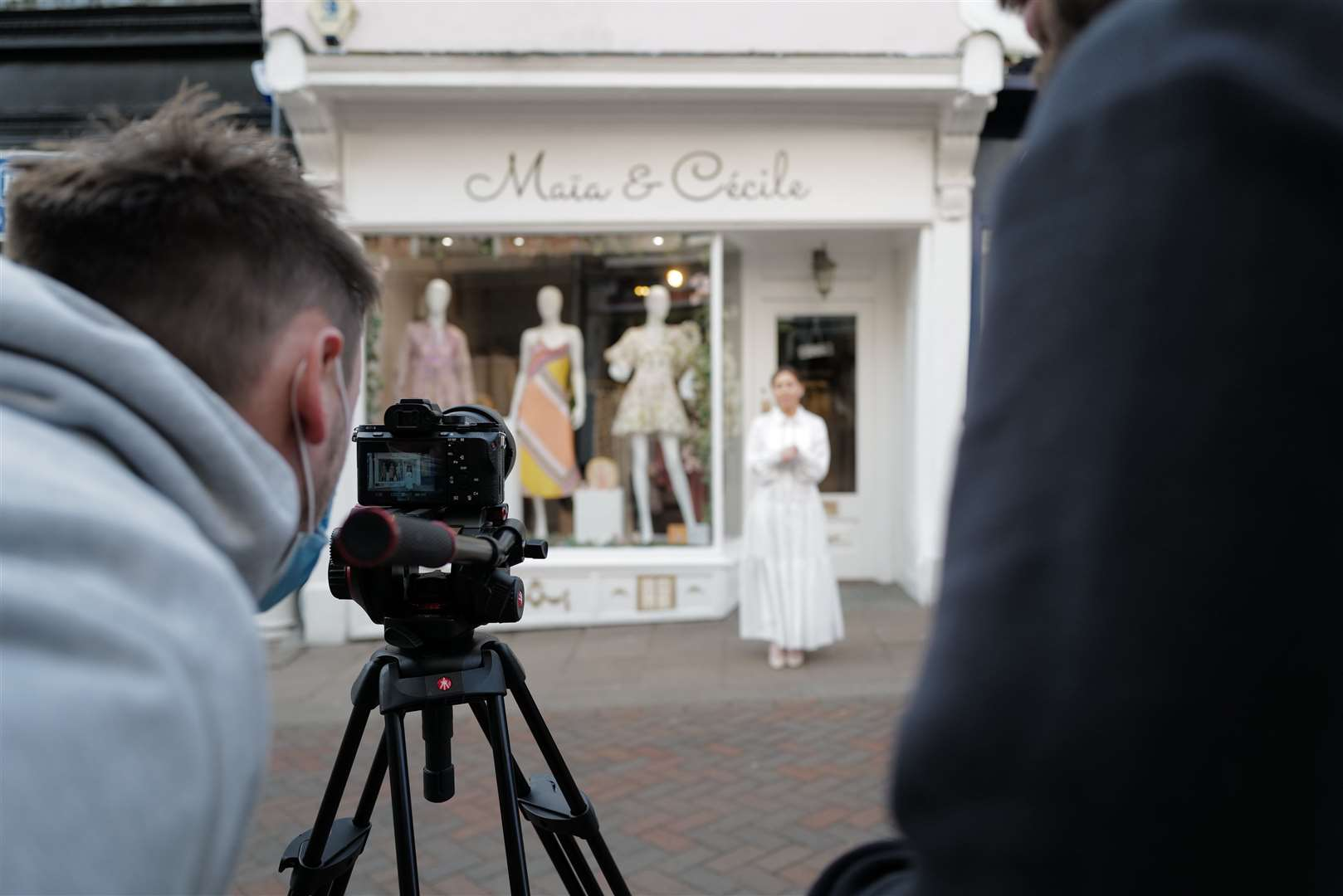 Boutiques including Maia & Cecile feature in the #BuryBouncingBack film. Picture: Allegro Creative Agency/Our Bury St Edmunds