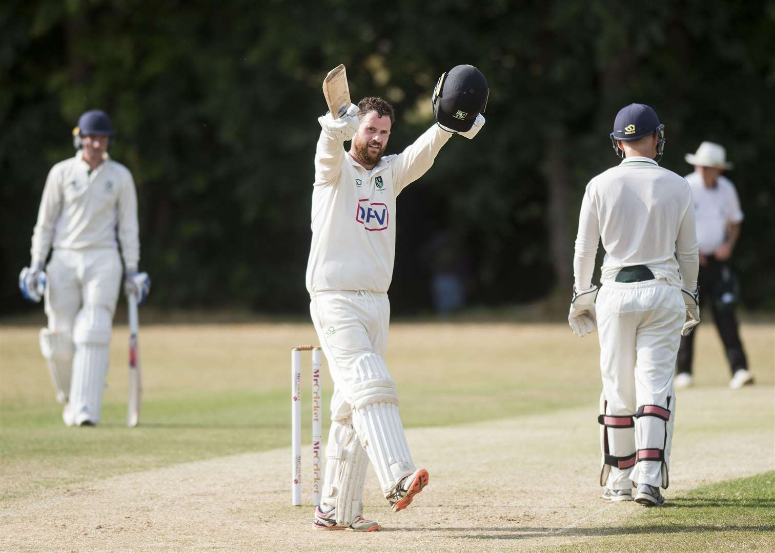 CRICKET: Burwell & Exning v Horsford Tom Griffiths Batted well scoring 121 Picture Mark Westley. (2930807)