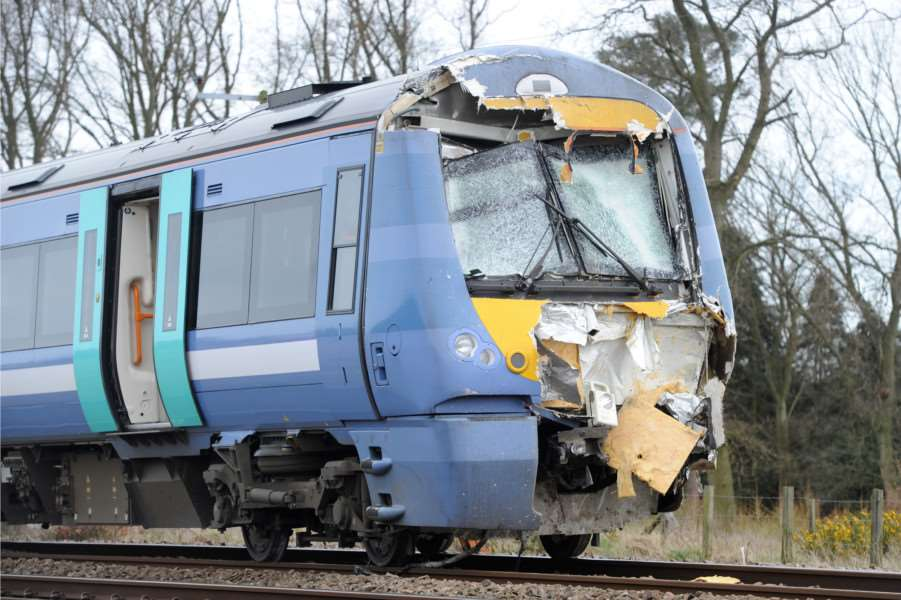 Train and Tractor crash at Roudham ANL-161004-191114009