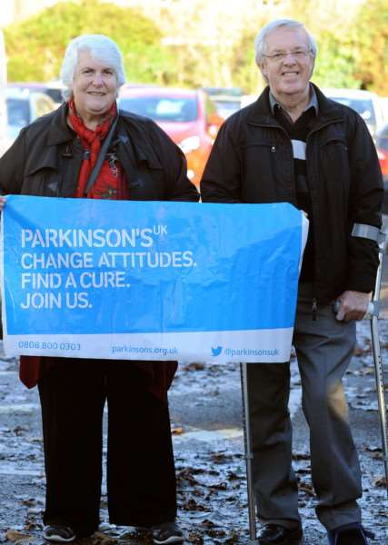 Members of the Bury Branch of Parkinsons UK for Feature. Including photos of Secretary Glynis Bannister and Maurice Rutter (Branch Chairman) ANL-161128-150450009
