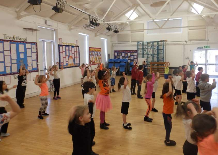 West Row Academy completed a sponsored non-stop work out.