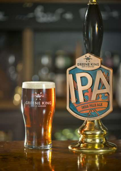 Greene King's IPA.