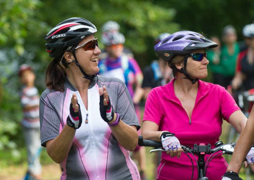 Women on Wheels starting from Nowton Park ANL-150507-213911009