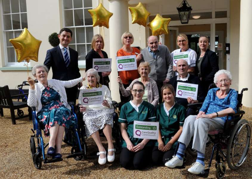 Brandon Park Nursing Home has gained an 'outstanding' rating from the Care Quality Commission.''''Picture: Mecha Morton