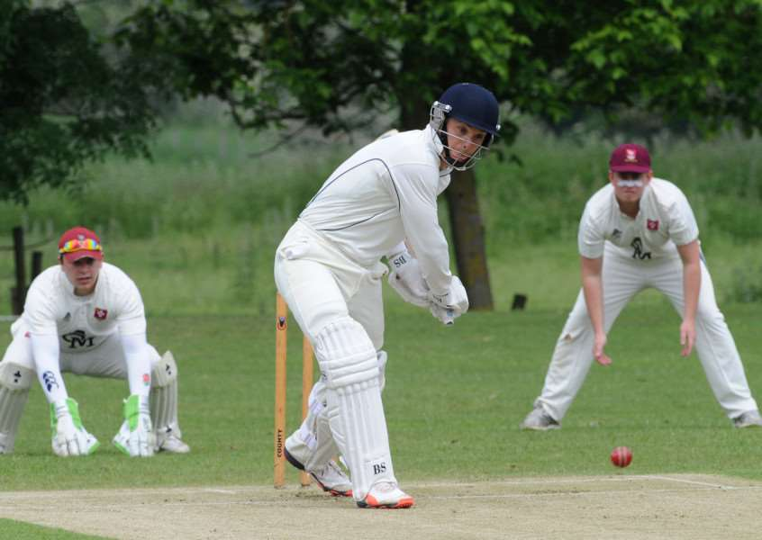 LOSING STREAK: Richard Ford's knock of 47 against Witham could not halt Worlington's ongoing run of defeats.