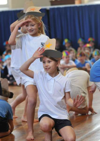Guildhall Feoffment Primary held a dance festival ANL-150902-135702009