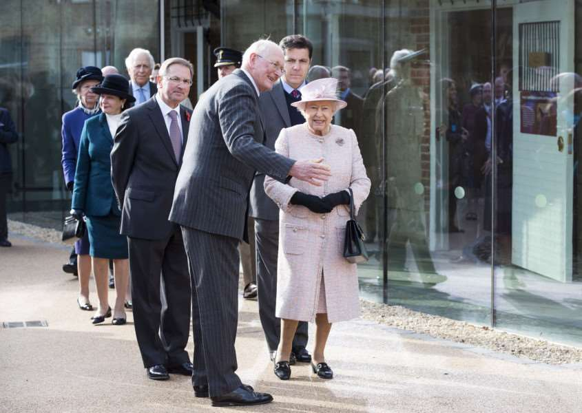 The Queen is patron of the National Horseracing Museum, part of The National Heritage Centre for Horseracing and Sporting Art, which she opened last year