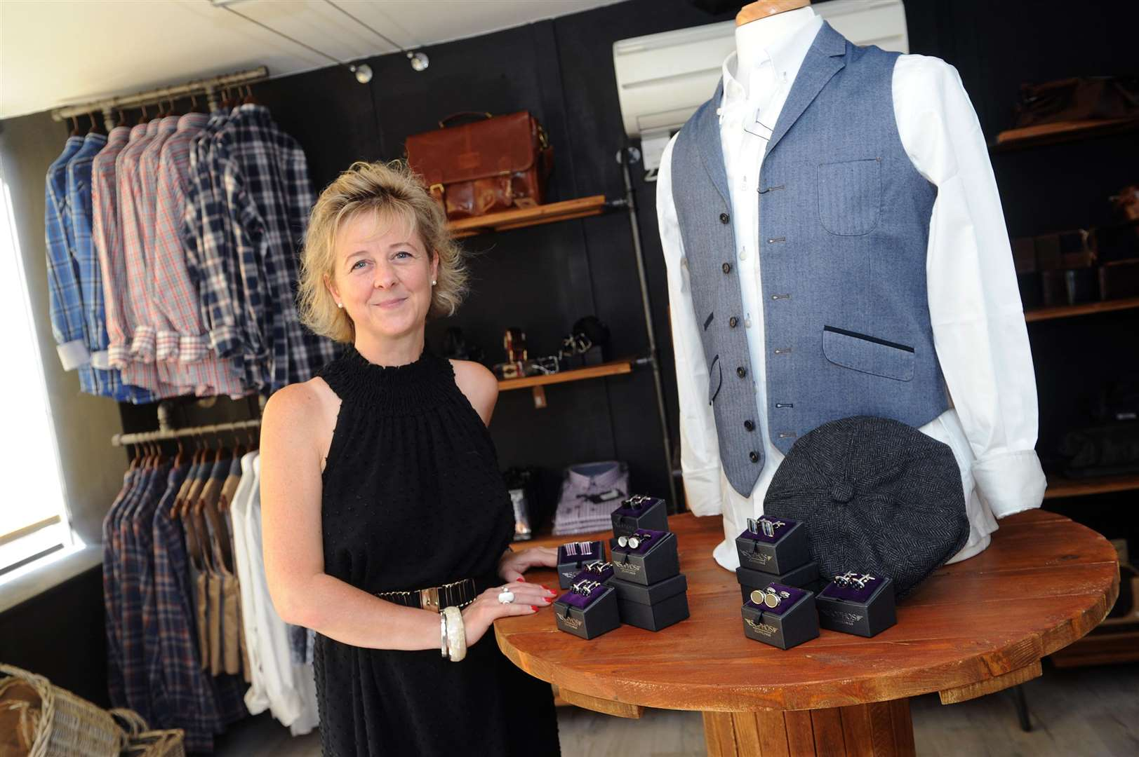 Lucy Cooper is opening lifestyle shop called Home in Linton...PICTURE: Mecha Morton. .. (3490260)