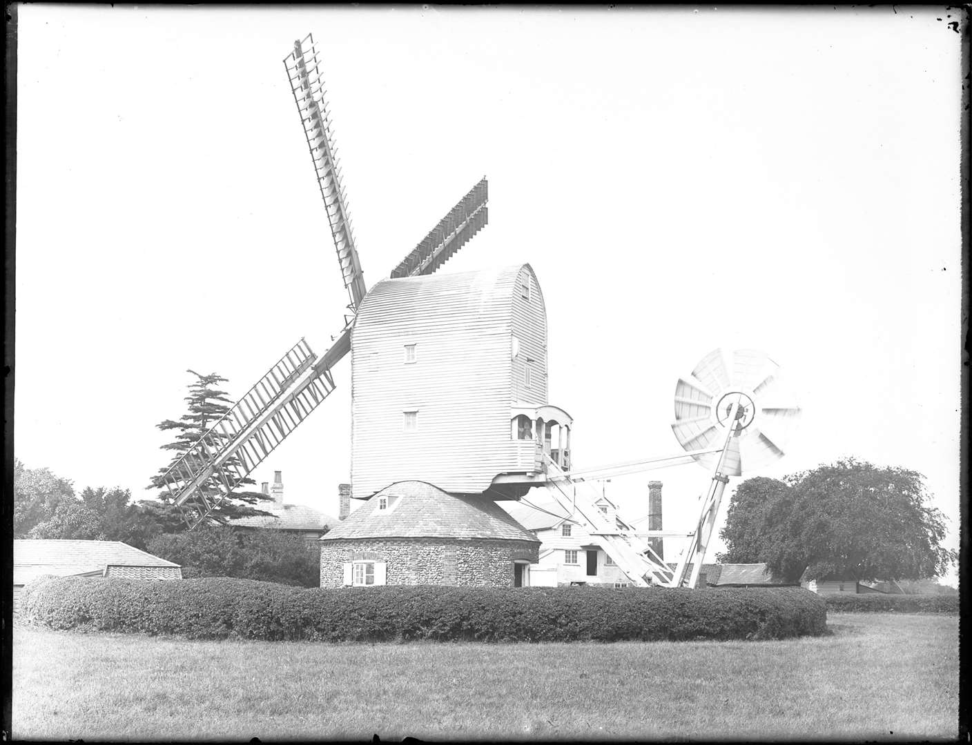 The fulling mill at Barton Mills. From the Spanton Jarman collection (2678837)