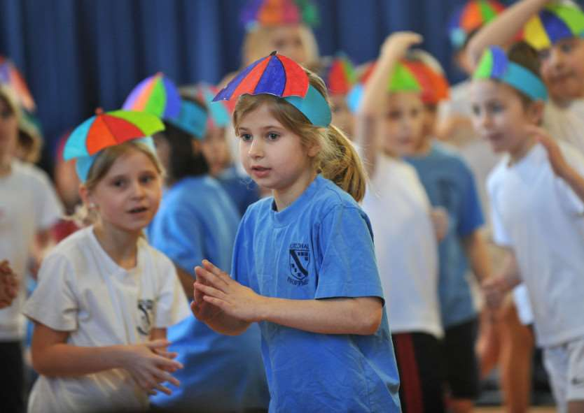 Guildhall Feoffment Primary held a dance festival ANL-150902-135422009