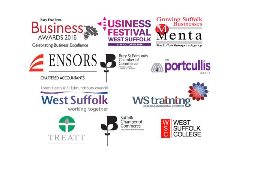 Sponsors of the Bury Free Press Business Awards 2016 ANL-160730-133806001