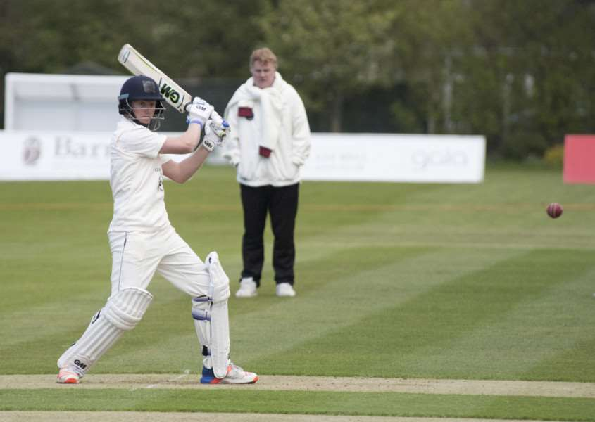 HIGH SCORE: Callum Taylor scored 129 runs to help Bury St Edmunds beat Horsford by 57 runs on Saturday