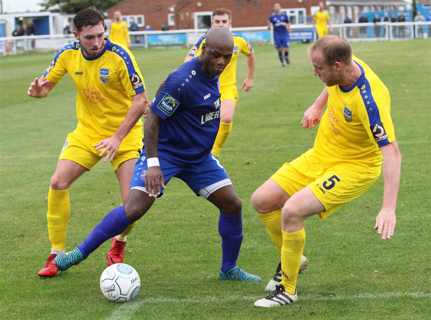 Leroy Lita, pictured towards the end of his career with non-league Margate