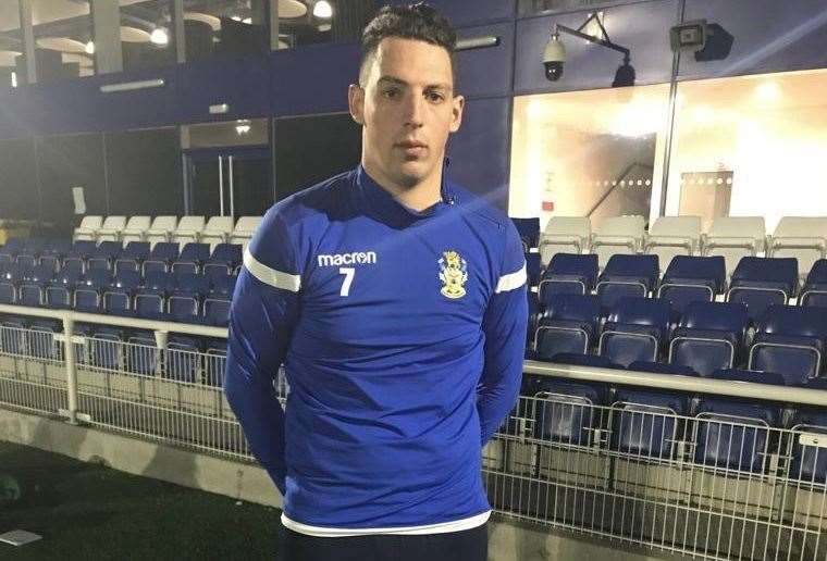 Adam Bailey-Dennis finished the season at Sudbury's divisional rivals Aveley