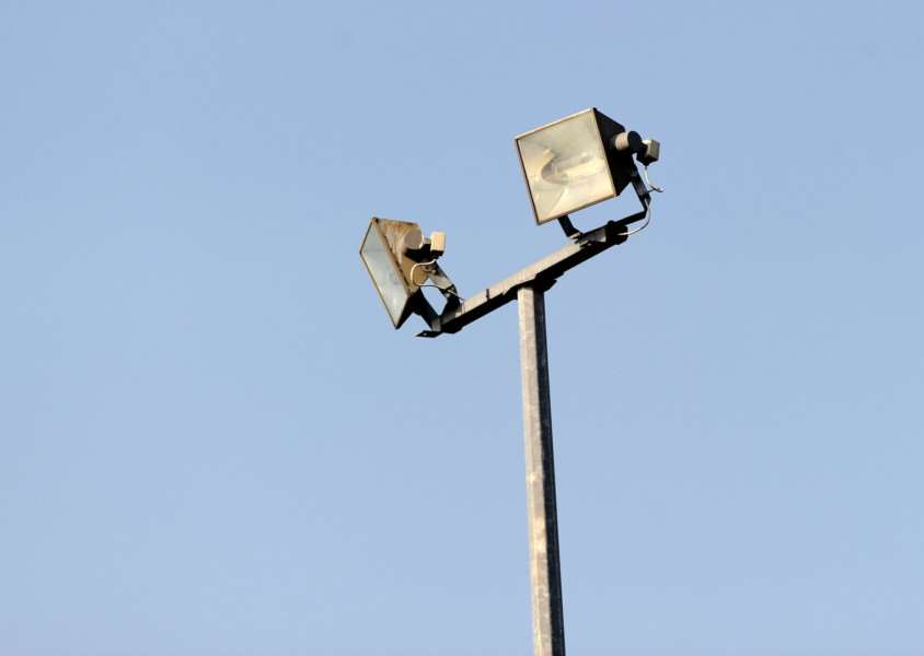 NEW LIGHTS: Stowmarket Town are hoping to receive a �10,000 grant to go towards upgrading their floodlights