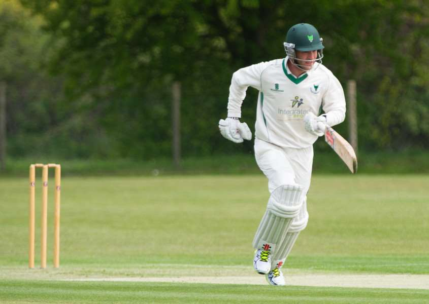 TOP BATSMAN: South African Sean Dickson has so far proved a great signing, leading Woolpit's run-scoring