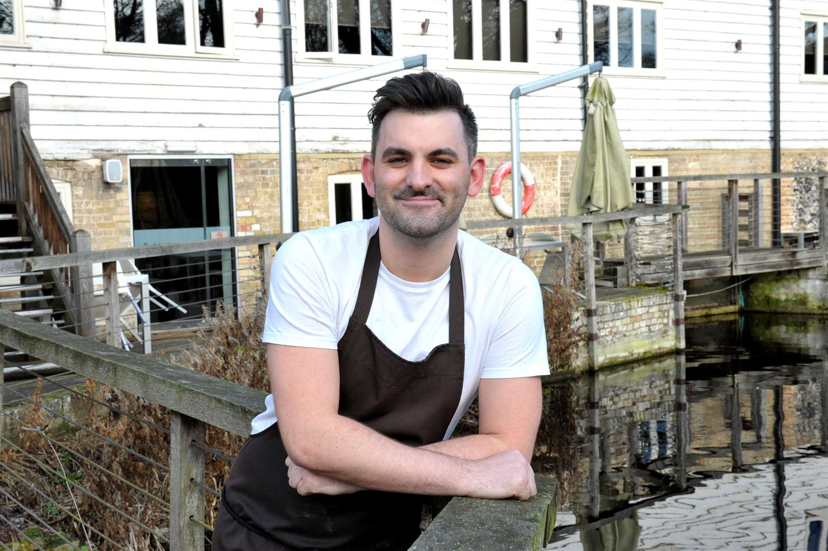 Chef patron Lee Bye at Tuddenham Mill