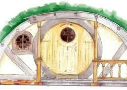 An image shows how the Hobbit hole will appear.