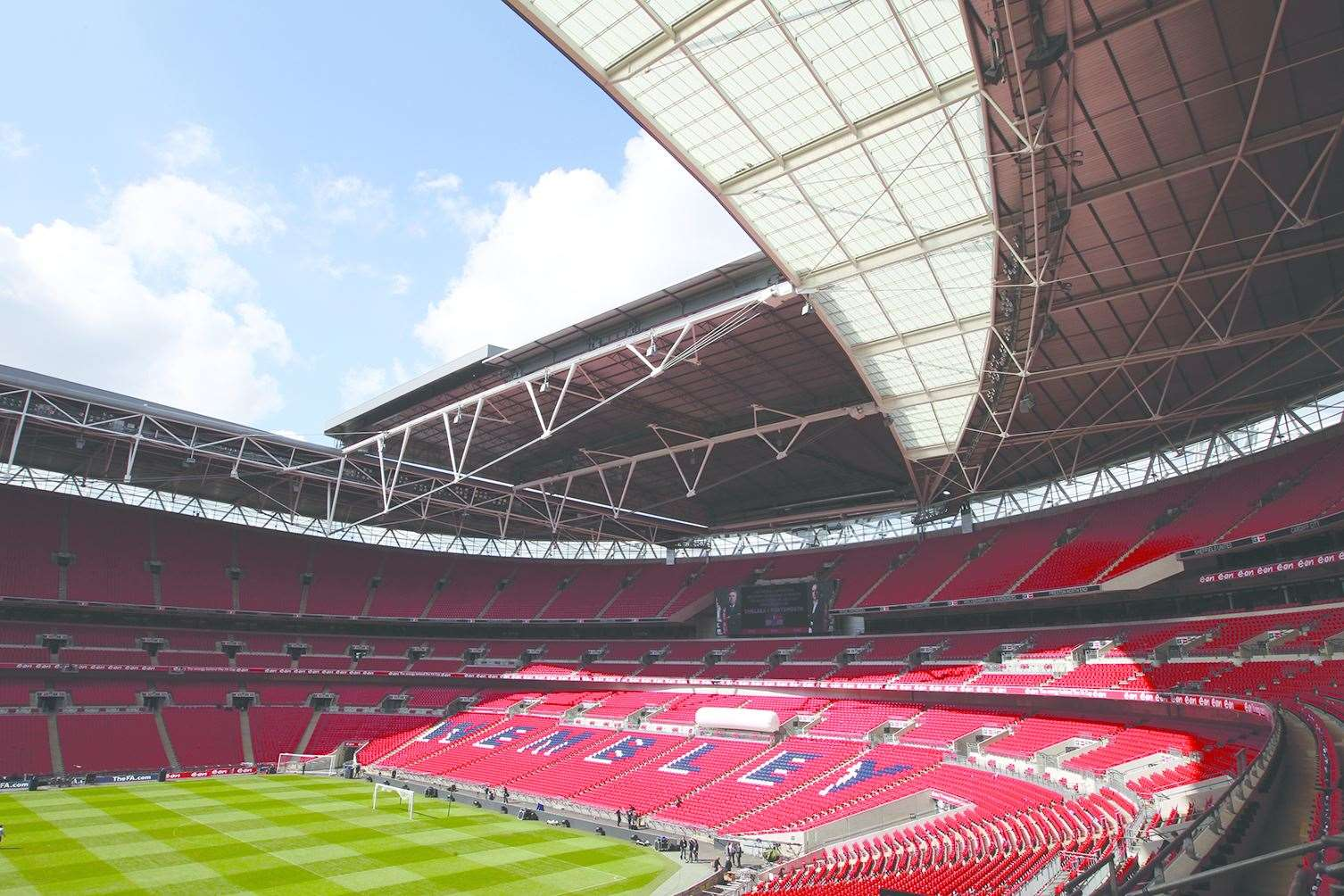 General view of the Wembley