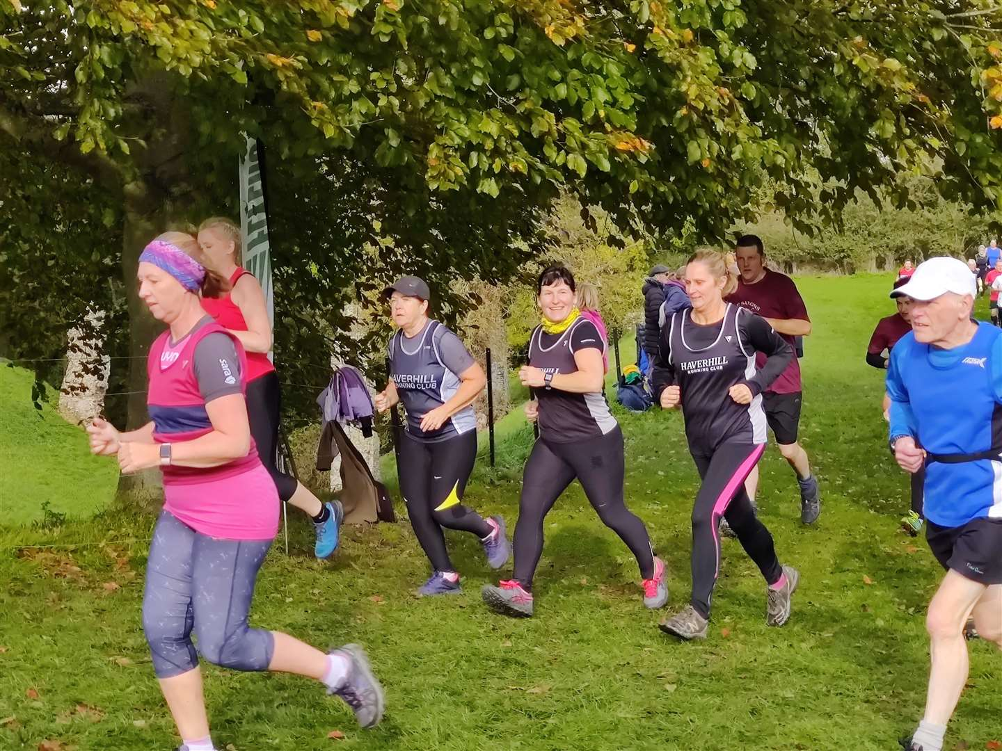 Haverhill Running Club take part in first fixture of 2019/20 Suffolk Winter Cross Country League (20890528)