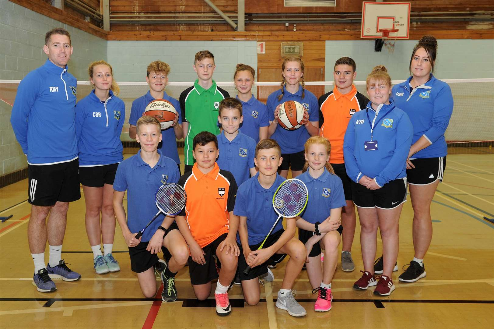 Thomas Gainsborough School in Great Cornard is one of 40 schools nationwide taking part in a new Sport England-led pilot scheme, which is providing funding to help increase participation in sports and physical activity.....PICTURE: Mecha Morton... .. (4706237)