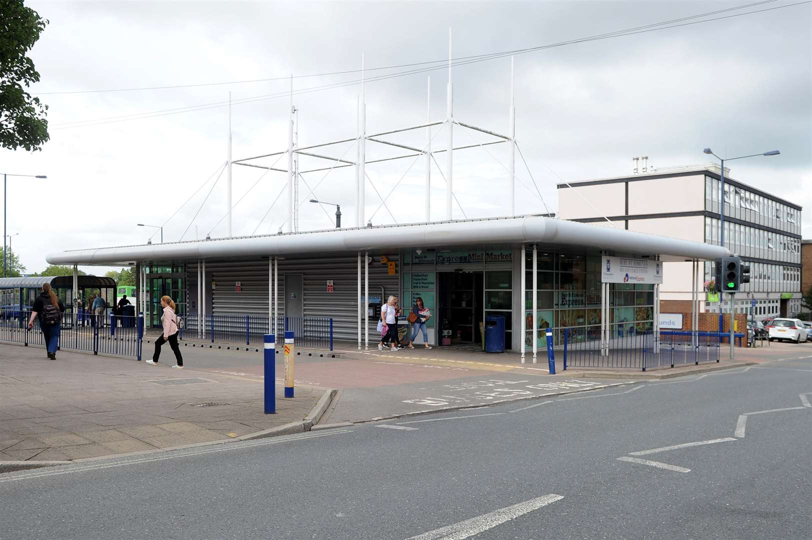 Bury St Edmunds bus station. Picture by Mecha Morton