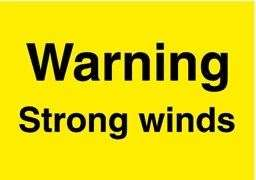 Weather warning for wind (28940925)