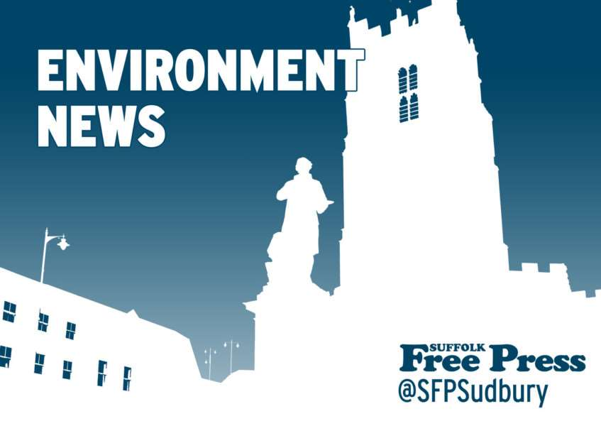 Latest environment news from the Suffolk Free Press, suffolkfreepress.co.uk, @sfpsudbury on Twitter
