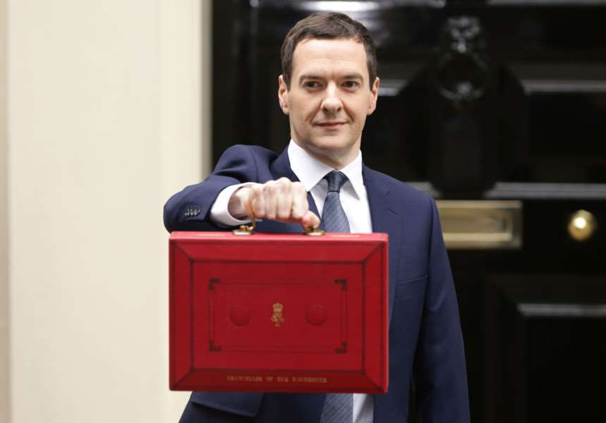 The Chancellor of the Exchequer George Osborne's red box contained news of devolution for East Anglia''Picture: Yui Mok/PA Wire EMN-150713-160714001